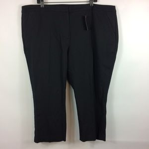 Lane Bryant Black Crop Capris Womens Plus Size 24